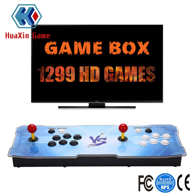 Arcade Video Game Consola 1388 Juegos Retro Caja Del Juego 5s Plus