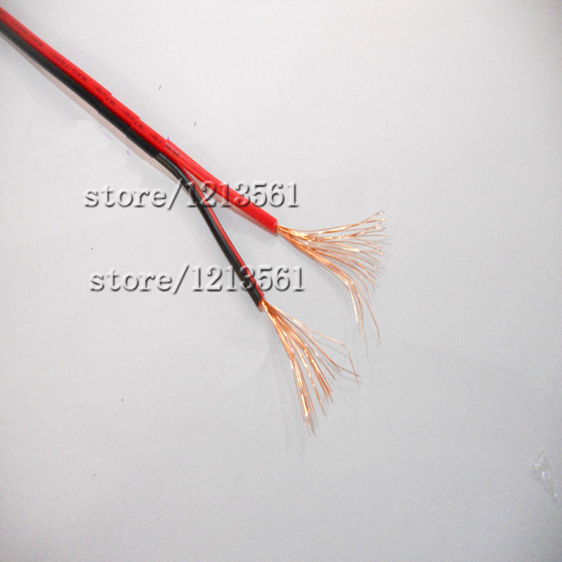 150mlot 2pins led extension wire cable 2075mm copper wire cord 2 pin wire for strip light sound power supplyin electrical wires from home improvement