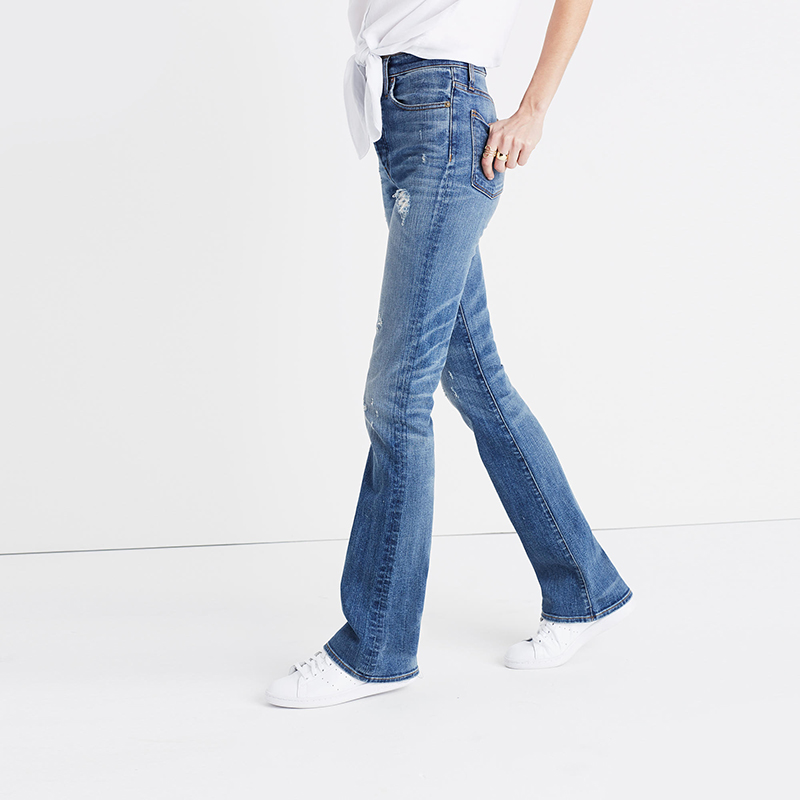 MayBerry Jeans Women Skinny flare Jeans vintage-inspired jeans High Waist Ripped Jeans