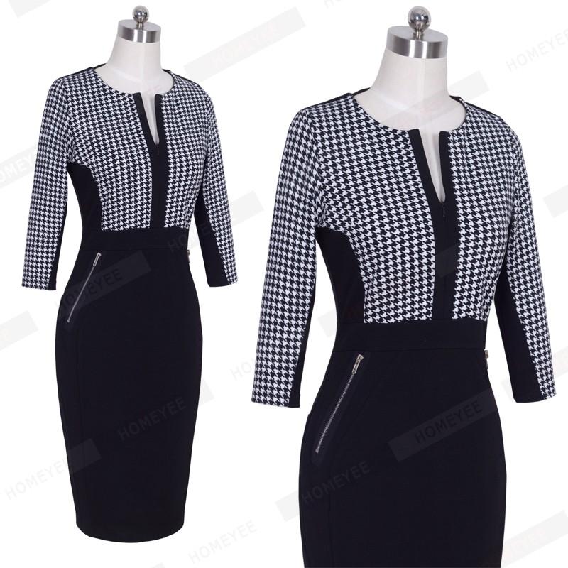 Plus Size Elegant Bodycon Pencil dress 42