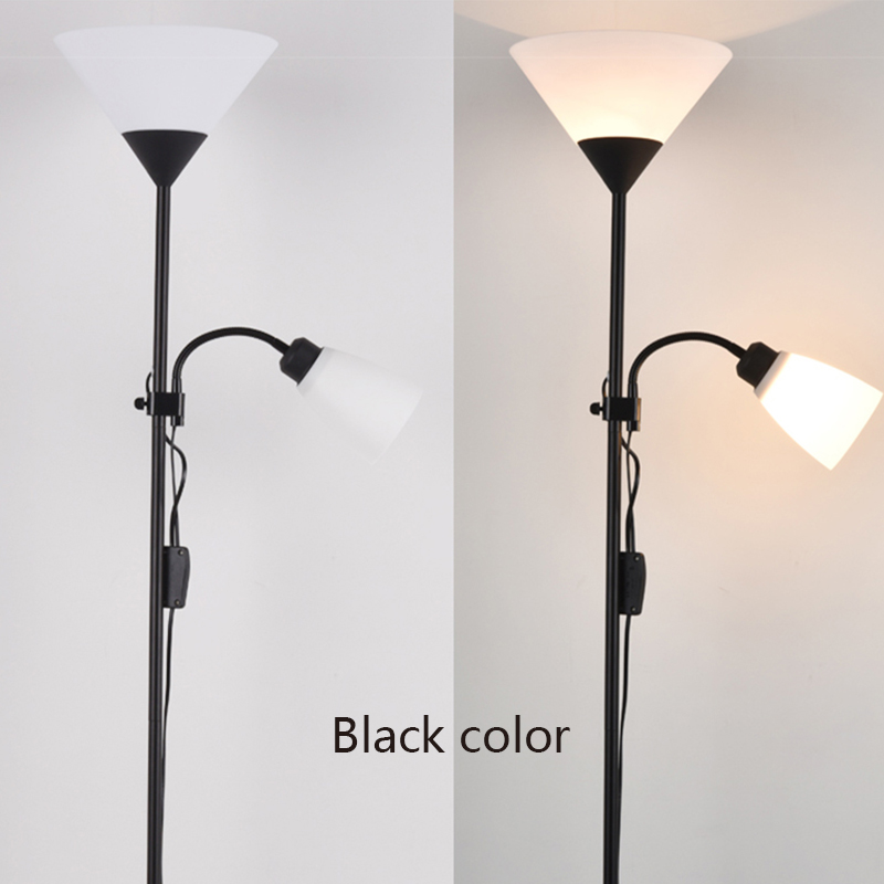 Modern 2 lights mother and child floor lamps living room adjustable modern 2 lights mother and child floor lamps living room adjustable hotel lighting e27 ac 110v 220v for bedroom in floor lamps from lights lighting on aloadofball Image collections