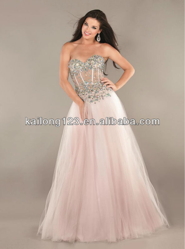 Pink corset prom dresses - Best Dressed