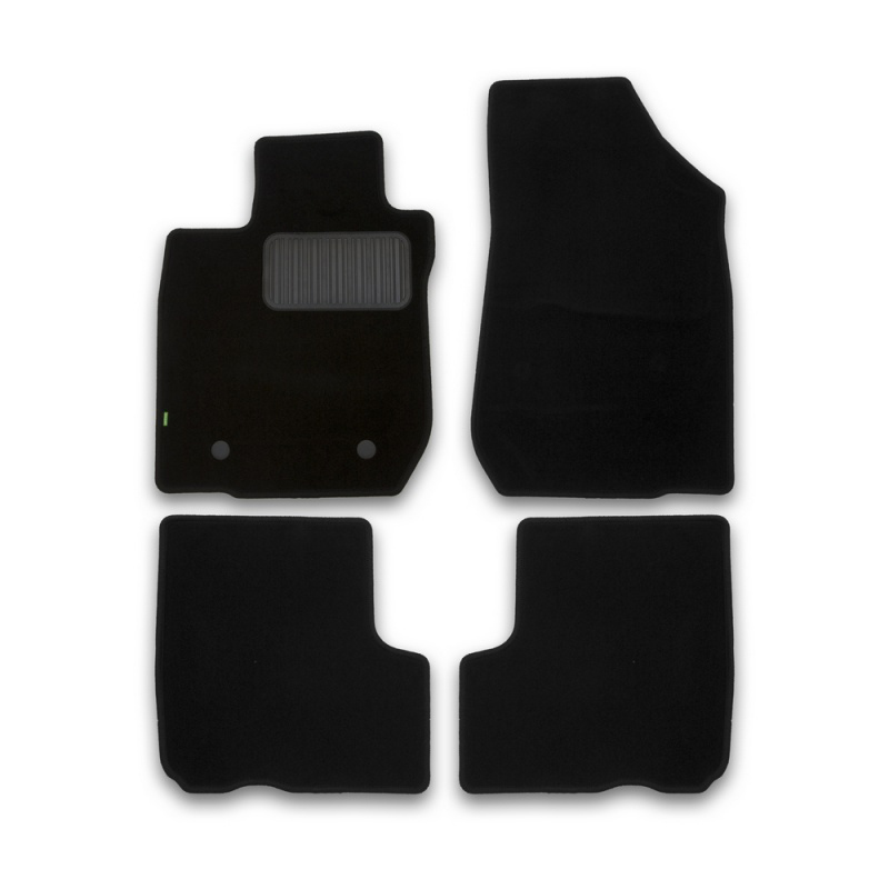 цена на Mats in salon Klever Standart for LADA Largus 5 seats 2012->, Oon... 4 PCs (textile)