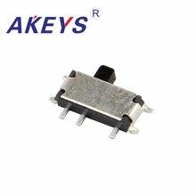 10PCS  MSK-12C01-07 MINI 1P2T slide switch 2 position 7 pin SMD SMT mini SPDT toggle switches
