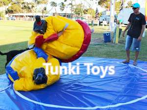 inflatable wrestling sumo suit