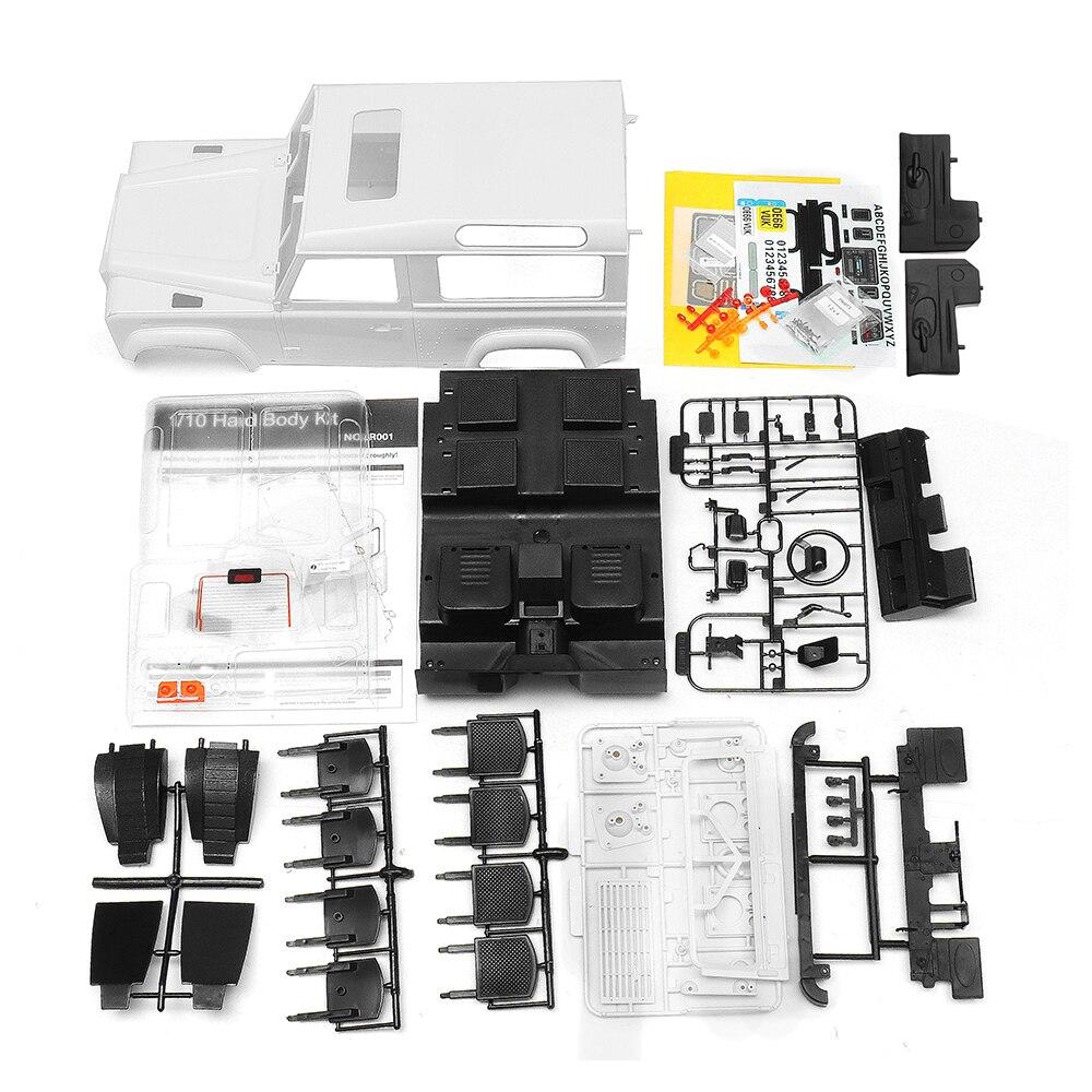 Haute Qualité Killerbody 1/10 Dur RC Carrosserie De Voiture Pour Land Rover Defender D90 Kit DIY Axial SCX10 RC4WD Accessoires