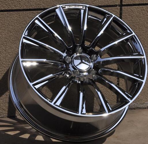buy chrome 16 17 18 19 20 inch 5x112 car aluminum alloy rims fit for mercedes. Black Bedroom Furniture Sets. Home Design Ideas