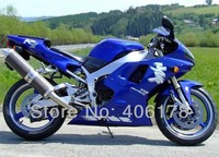 Hot Sales,Hot 98 99 R1 fairing kit For Yamaha Yzf R1 1998 1999 Race Blue Motorcycle Bodywork Fairings (Injection molding)