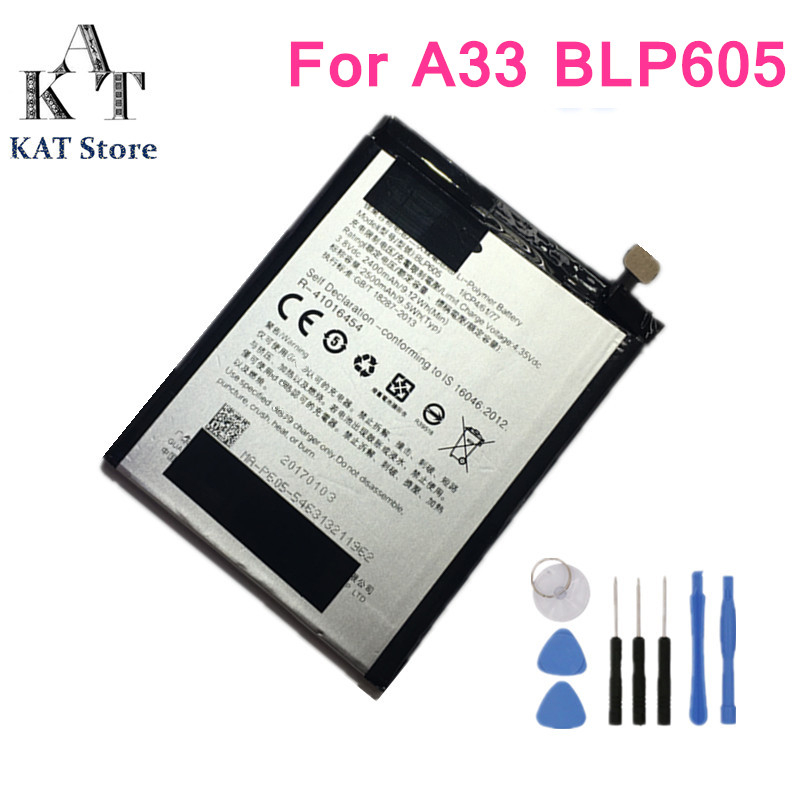 US $9 97 5% OFF|BLP605 2500mAh Phone Battery For Oppo A33 A33T A33F A33W  A33M F1 A35 Battery Replacement High Quality AAA Gift Tools-in Mobile Phone