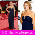 Lauren Conrad Dress Navy Blue Evening Prom Formal Pageant Gown 2008 Primetime Emmy Awards