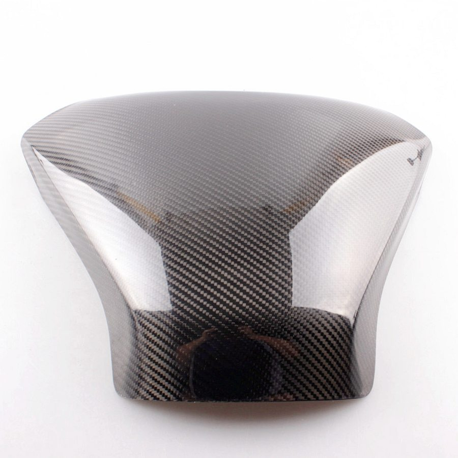 Motorcycle Carbon Fiber Fuel Gas Tank Cover Protector Fits For Suzuki Hayabusa GSXR1300 Year 2008 2015