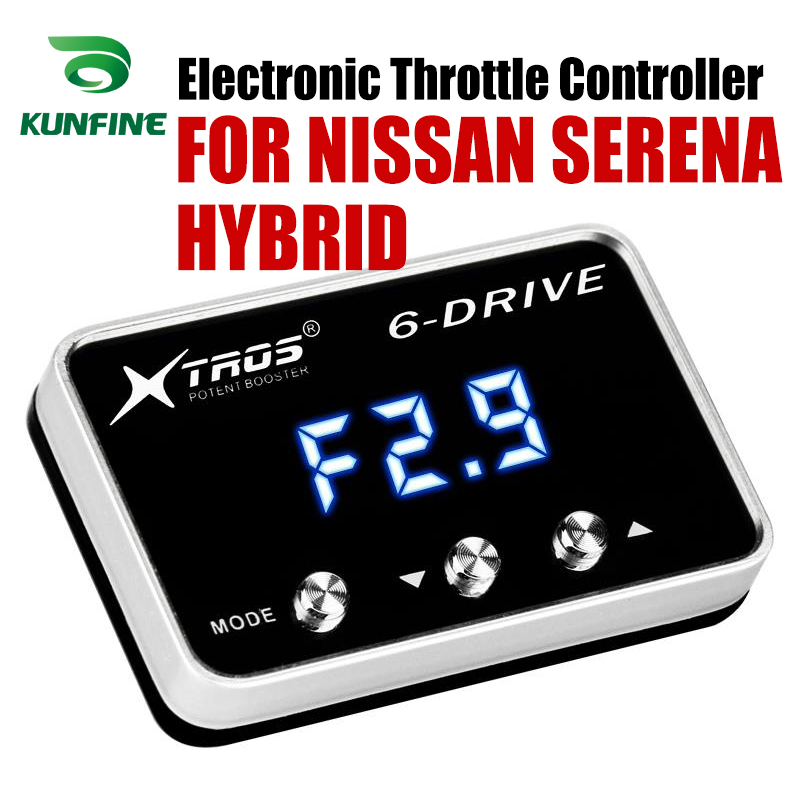 Car Electronic Throttle Controller Racing Accelerator Potent Booster For NISSAN SERENA HYBRID Tuning Parts Accessory