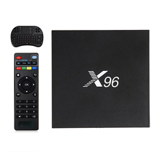 Android 6.0X96 TV Box Amlogic S905X Макс 2 ГБ RAM + 16 ГБ ROM Quad Core WI-FI HDMI 4 К * 2 К HD Smart Set Top BOX Media Player ПК A95X