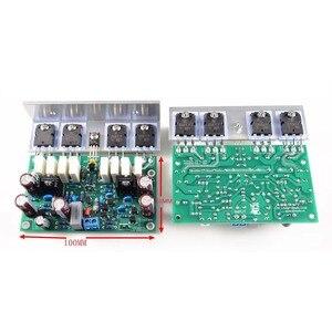 Image 5 - Lusya 2pcs HI END L20 VER 10 Stereo Amplificatore di Potenza A Bordo Rifinito 200W 8R Con Angolo di Alluminio d2 011