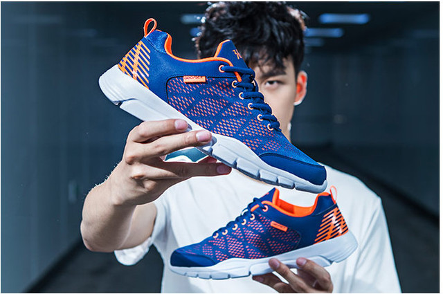 361 Спортивная обувь Мужская обувь новая дышащая сетка 361 градусов Мужская обувь для бега амортизация кроссовки