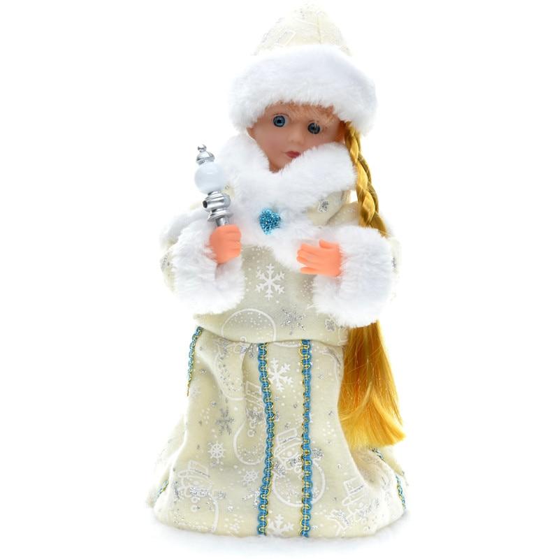 30cm novoletni okraski božični električni dedek Mraz glasbeni - Dekor za dom - Fotografija 3