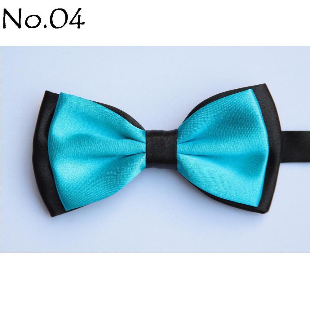 HOOYI 2018 mens solid color bowtie plaid bow tie knot butterfly butterflies bows
