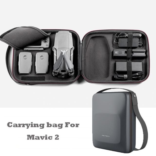 512354daa5b PGYTECH PU Portable Shoulder Bag Handbag Drone Carrying Case DJI Mavic 2 Pro  / Zoom Hard