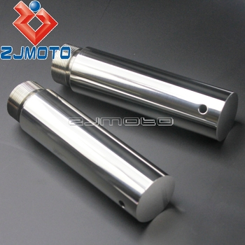 """Motorcycle 39mm Fork Tube 5in Extension For Harley Dyna Glide Sportster FXD XL1200 XL883 5"""" Fork Tube Extension"""