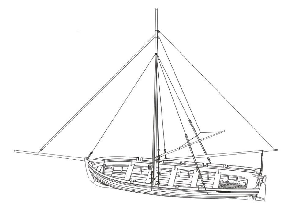 Nidalee modelo envío gratis Básculas 1/35 todo marco de madera barco ...