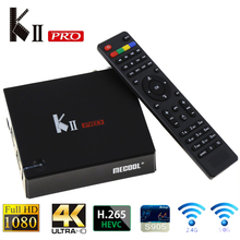 KII PRO DVB S2 T2 Android TV Box 2 GB 16 GB DVB-T2 DVB-S2 Android 5.1 Amlogic S905 Tv Box Bluetooth 2.4G/5G Wifi Ensemble complet Top boîte