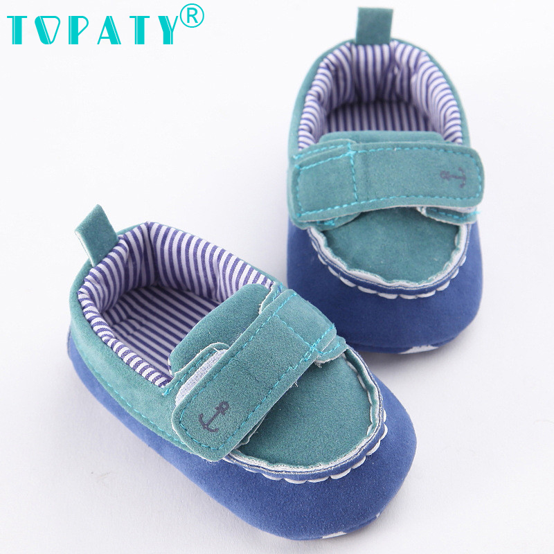 TOPATY 2018 Brand New Fashion Baby Girl boy toddler Shoes newborn First walkers Star soft bottom Anti-Skid Infantil Kids Shoes ...
