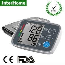Large Number Digital Upper Arm Blood Pressure Pulse Monitors tonometer Portable health care bp Monitor meters sphygmomanometer