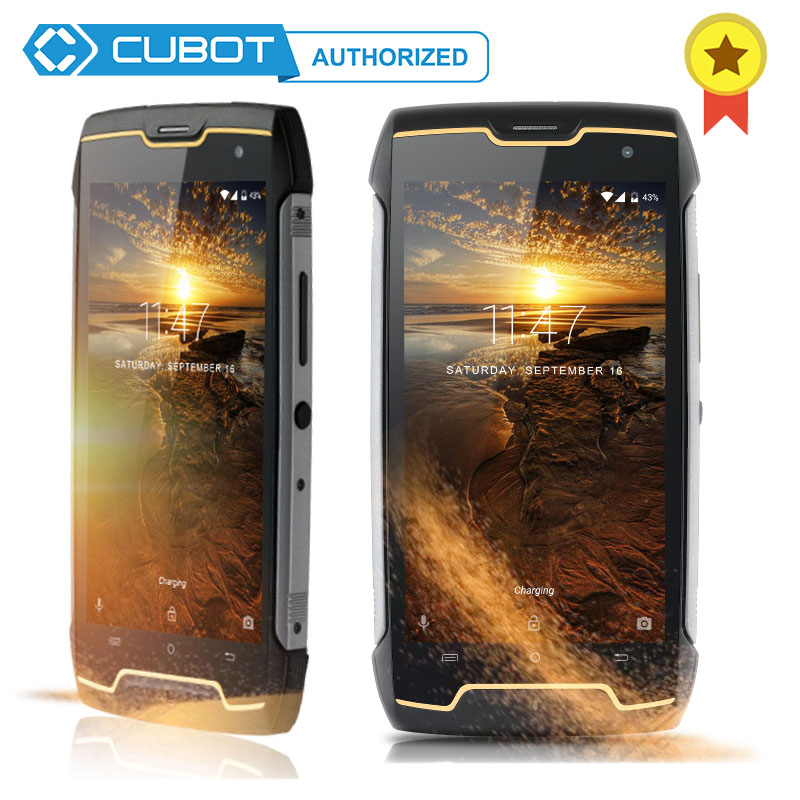 Cubot Kingkong IP68 Waterproof Dustproof Shockproof 4400mAh Mobile Phone Andriod 7.0 MT6580 Quad Core 2GB RAM 16GB ROM Cellphone