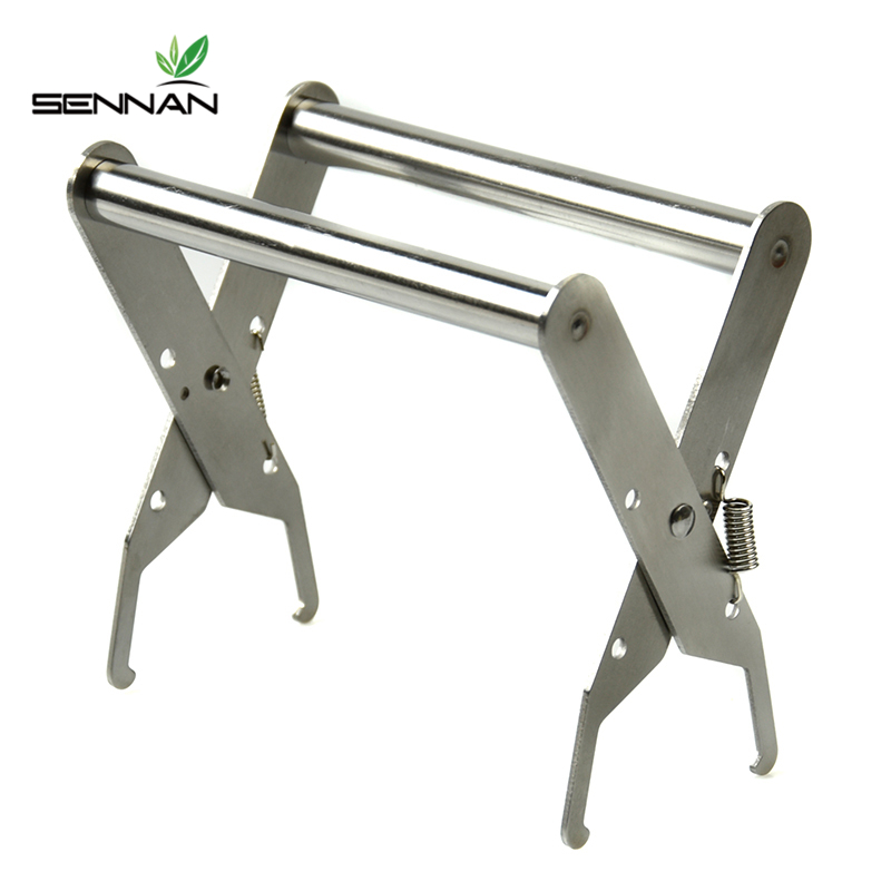 Bee Hive Frame Stainless Steel Holder Capture Grip Beekeeping Accessory Protect Bee Sting Capture Grip  Beekeeping Equipment