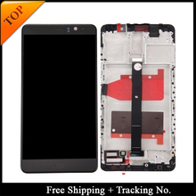 Tracking No. 100% tested For HUAWEI Mate 9 LCD MHA L29 LCD Screen Display Touch Digitizer Assembly