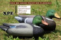 6pcs Wholesale duck decoy light soft hollow duck decoys for hunting and yard decoration new duck decoy