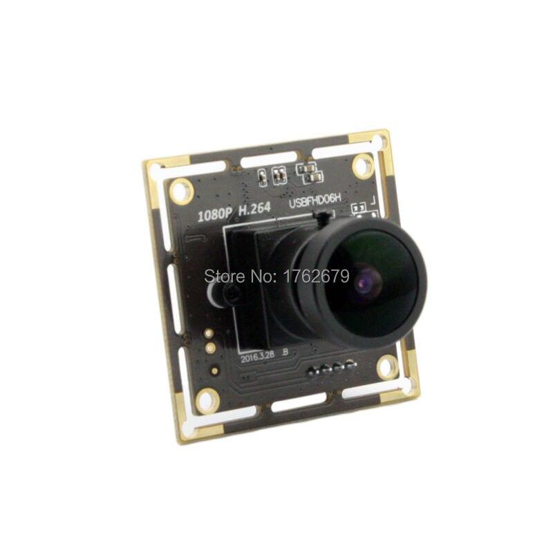 H.264 1920*1080 Fisheye usb Security Protection camera module 170 fisheye lens wide angle Sony IMX322 USB Camera