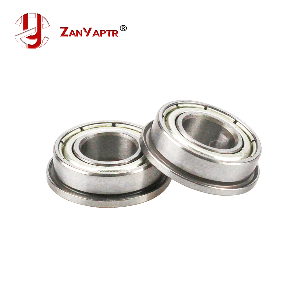 10Pcs F688-2Z F688ZZ F688zz F688 Zz F628/8ZZ Flanged Flange Deep Groove Ball Bearings 8 X 16 X 5mm Free Shipping For 3D Printer