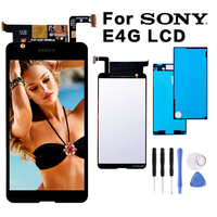 Original For SONY Xperia E4G E2003 E2033 LCD Display Digitizer Sensor Glass Panel Assembly Replacement Parts