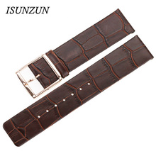 ISUNZUN Genuine Leather Watchband For CK k2Y231/K2Y2X6/k2G231/k2Y211/K2U231 Band Watch Women watch strap  First Layer Leath