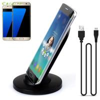 CARPRIE Hot Product 3 Coils Qi Wireless Charger Charging Stand Dock For Samsung Galaxy S7 S7