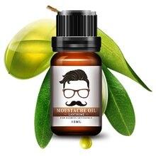 Лидер продаж натуральный Для мужчин масло для бороды для укладки пчелиный воск увлажняющий сглаживание нежный Для мужчин ухода за бородой кондиционер 10 мл