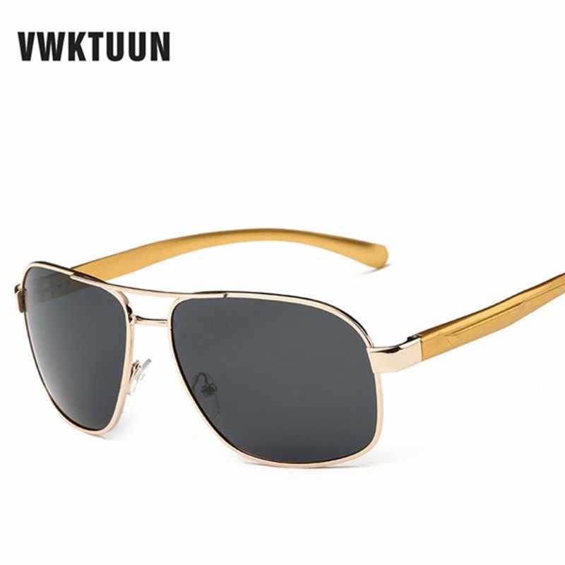 3cfafa0920f Aluminum Magnesium Alloy Frame Polarized Sunglasses Men s Driving Sunglass  Mirror Outdoor Sports Glasses Oculas De Sol