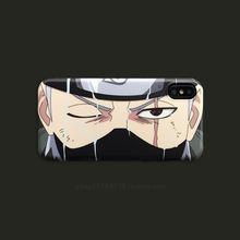 Naruto Sasuke Soft Silicon Cover for iphone