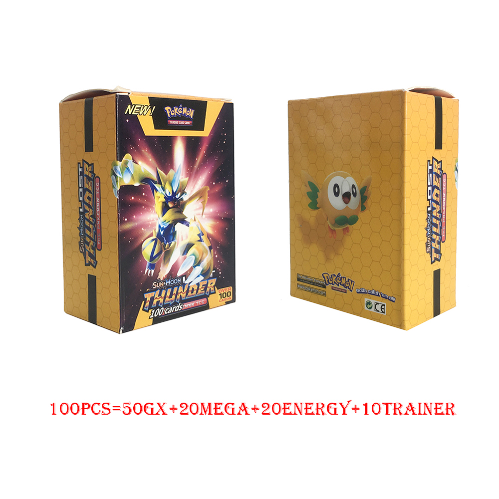Tomy Pokemon 100PCS GX MEGA TRAINER ENERGY Cover Flash Card 3D Version SWORD SHIELD SUN&MOON Card Collectible Gift Children Toy