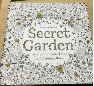 Coloring Book Secret Garden Relax Books For Adults Libro Colorear Adulto Livre Coloriage Adulte Livro