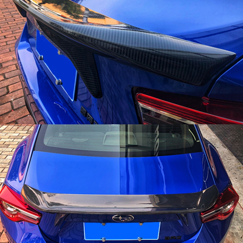 Fit for TOYOTA GT86 FT86 subaru BRZ carbon fiber Rear diffuser bumper rear lip rear spoiler in Spoilers Wings from Automobiles Motorcycles