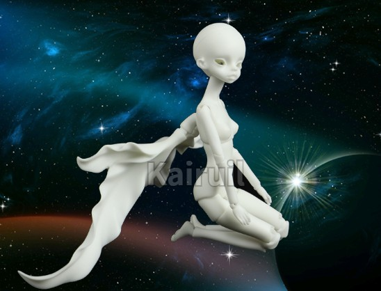 BJD Doll 1 8doll leaf man Joint Doll Free Eyes