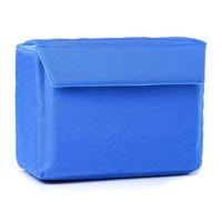 5pcs( ABDB Shockproof Camera Bag Partition Padded Camera Insert, Make Your Own Camera Bag Blue