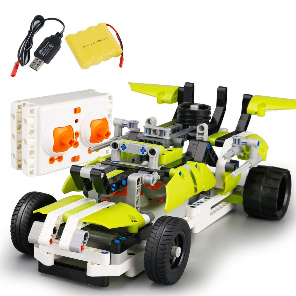 Bricolage RC voitures modèle jouet SDL 2017A-9 2.4 ghz USB charge bloc de construction télécommande voiture jouets enfants Cross Country véhicule jouet cadeau