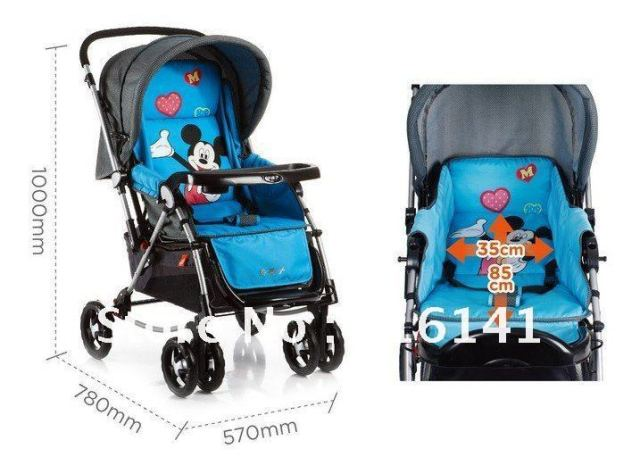 new for babybrand baby stroller jogger with cribbaby car