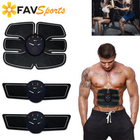 Muscle Training Body Shape Fit Set Wireless ABS Stimulator Abdominal Muscle Trainer Fitness Abdominal Toner Leg Arm Exercise