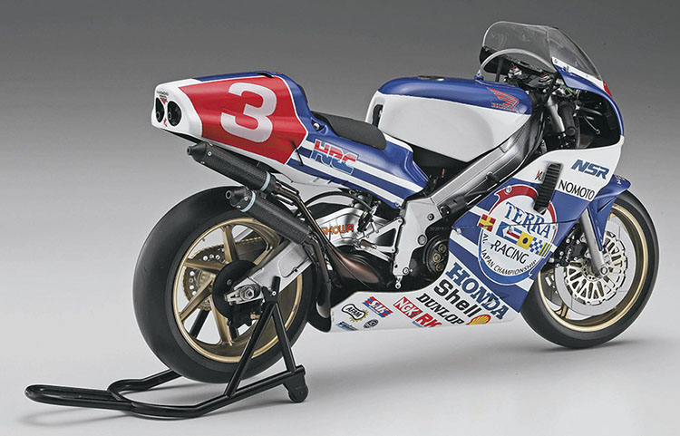1/12 Honda Nsr 500 Competition Motorcycle GP 500 Champion 21717 19891/12 Honda Nsr 500 Competition Motorcycle GP 500 Champion 21717 1989