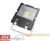 Отражатель светодиодный 100 Вт 6 шт./лот 220 В Bridgelux 45mil MeanWell Светодиодный драйвер яркий светодиодный наружная реклама свет светодиодный беспла