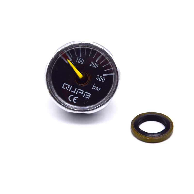 1 Inch Mini Air Gauge Scuba Manometer 40MPA/300BAR/400BAR/5000PSI/6000PSI